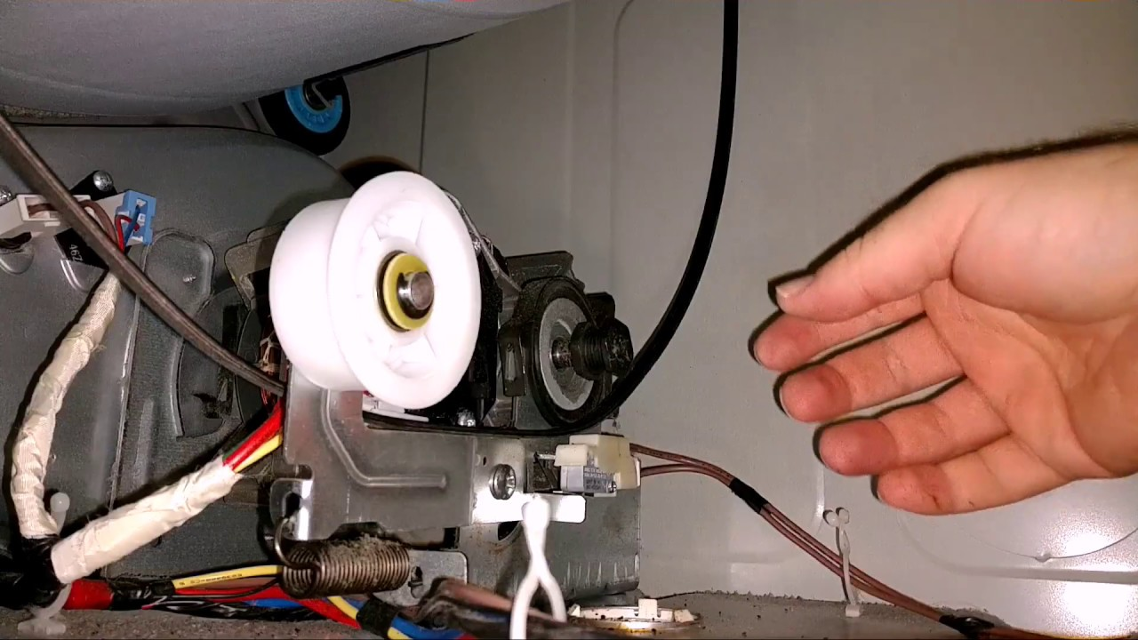 Samsung Dryer Belt Tensioner Replace Due To Squeaking From