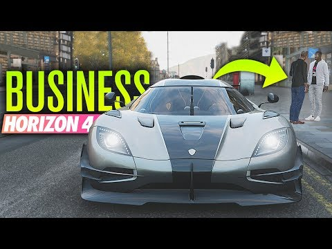 Buying A BUSINESS in Forza Horizon 4!?