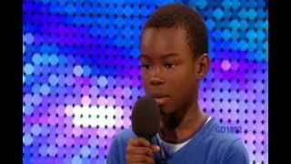 9 yr old boy malaki paul sings beyonces listen on britains got talent