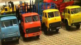 Коллекция МАЗов-503, 509, 515, 5335 от НАПа и Autotime 1:43