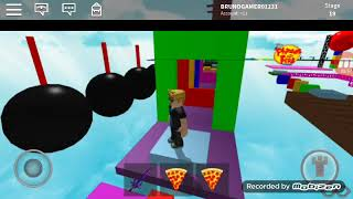 Roblox with Bruno Gamer 119 playing Parkour