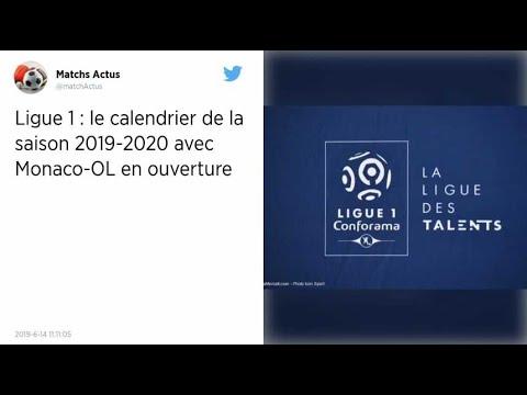 Calendrier Ligue 1 2019 2020.Ligue 1 Le Calendrier Complet De La Saison 2019 2020 Devoile