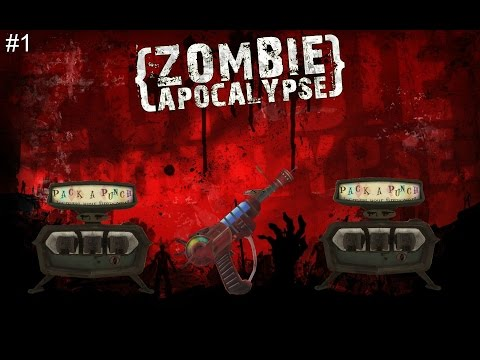"""DOUBLE PACK-A-PUNCH Golden Guns! """"Call of Duty Zombies"""" FARMHOUSE  Custom Zombies #1"""