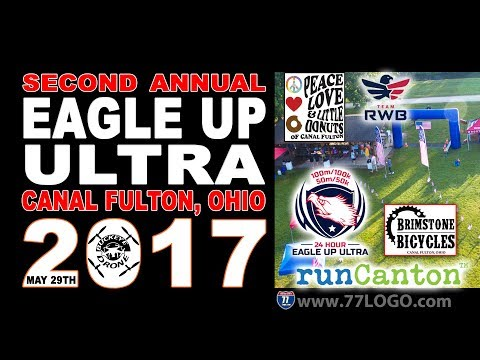 Eagle Up Ultra 2nd Annual 24-hour endurance race in Canal Fulton, Ohio