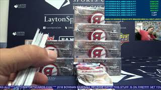 2018 Bowman Baseball HTA Jumbo Case Break #3 PYT