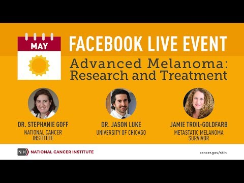 Advanced Melanoma Research and Treatment Facebook Live Event