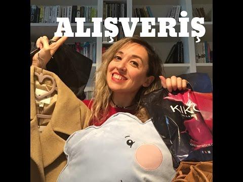 ALIŞVERİŞ - Bershka, Koton, Kiko, iKEA! (ve aliexpress açıklaması)
