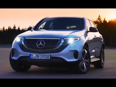 شاهد أول سيارة كهربائية بالكامل لمرسيدس  mercedes benz EQC 2020