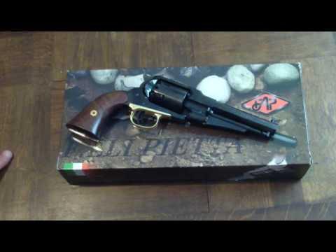 [ARMES] Revolver à poudre noire : Présentation du Remington 1858 modèle Shérif