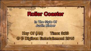 Justin Bieber - Roller Coaster  (Backing Track)