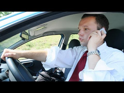 Sydney drivers stuck using their mobile phones in town.