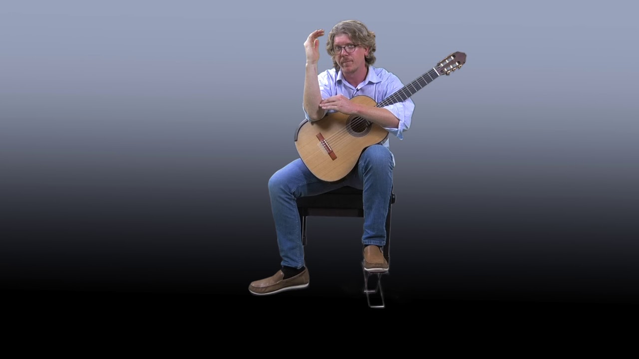Classical Guitar Seating Positions Youtube