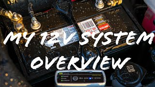 My 12V System Overview, Dual Battery, Winch, Lights, DCDC Charger - December 2018
