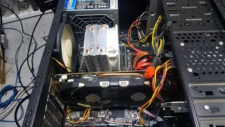 i3하스웰 컴퓨터. i5 4570+gtx1060 꼽고 …