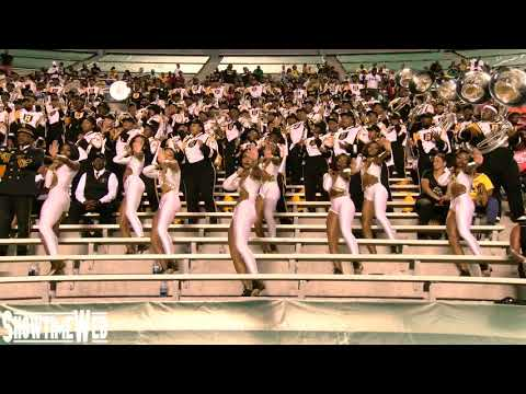 """Old Town Road"" Alabama State Marching Band and Stingettes - 2019 ASU at UAB"