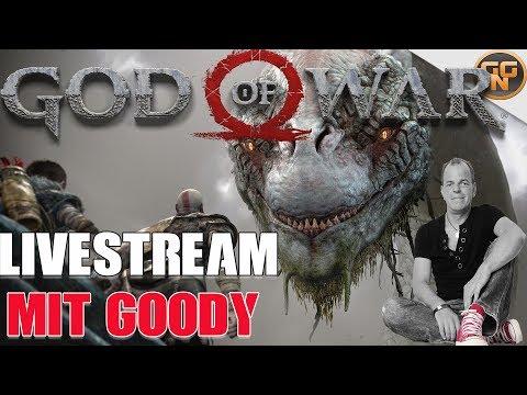 God of War - Kratos + Atreus + Goody - Auf nach Midgard - Livestream mit Goody