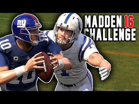 CAN PAT MCAFEE SACK A QB? - Punters and Kickers QB Sack Competition! Madden 16 NFL Challenge