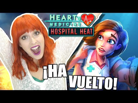 VUELVE ALLISON!! VUELVEN LOS AMORES DE HOSPITAL!   Ep.01   HEART'S MEDICINE -HOSPITAL HEAT