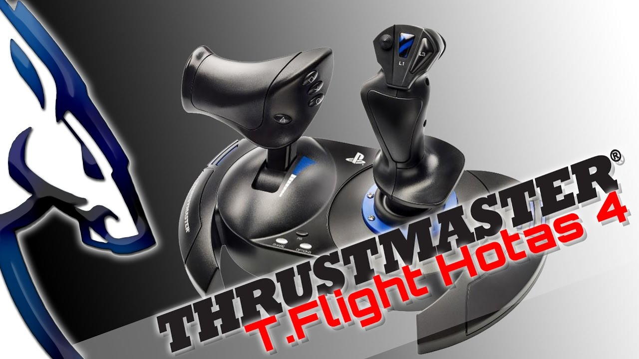 Thrustmaster T Flight Hotas 4 Review
