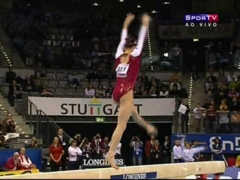 2008 Stuggart World Cup - Yang Yilin BB (Bronze - 15.075)