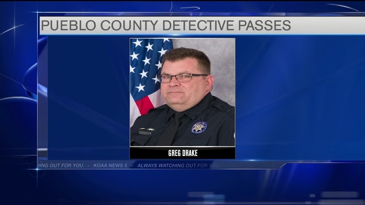 Pueblo Co  Sheriff's Office announces unexpected passing of Detective Greg  Drake