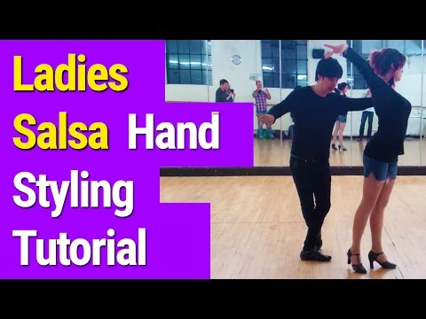 Salsa Styling Tutorial in Central London