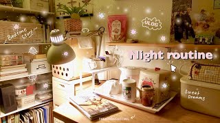 Night Routine  a cozy evening at home  Vlog  TheBrownSatchel