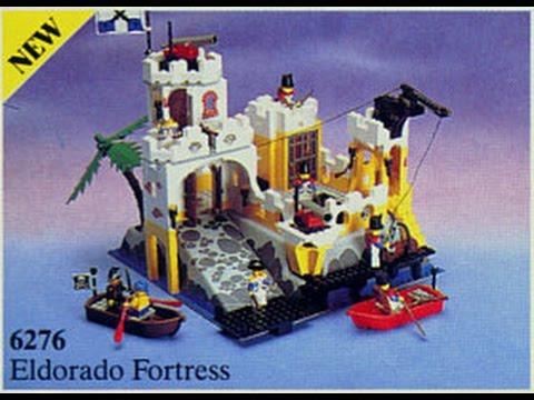 Lego Pirates Eldorado Fortress Youtube