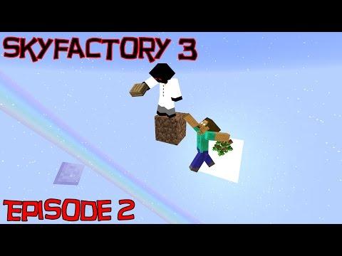 Skyfactory 3 - Ep 2 Sifting Dirt