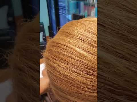 Natural Hair Blow-out