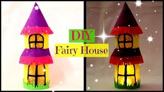 DIY Fairy House from Plastic Bottle | Best out of Waste | Little Crafties