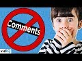 YouTube Bans Comments... The End Of Kids & Family Channels?
