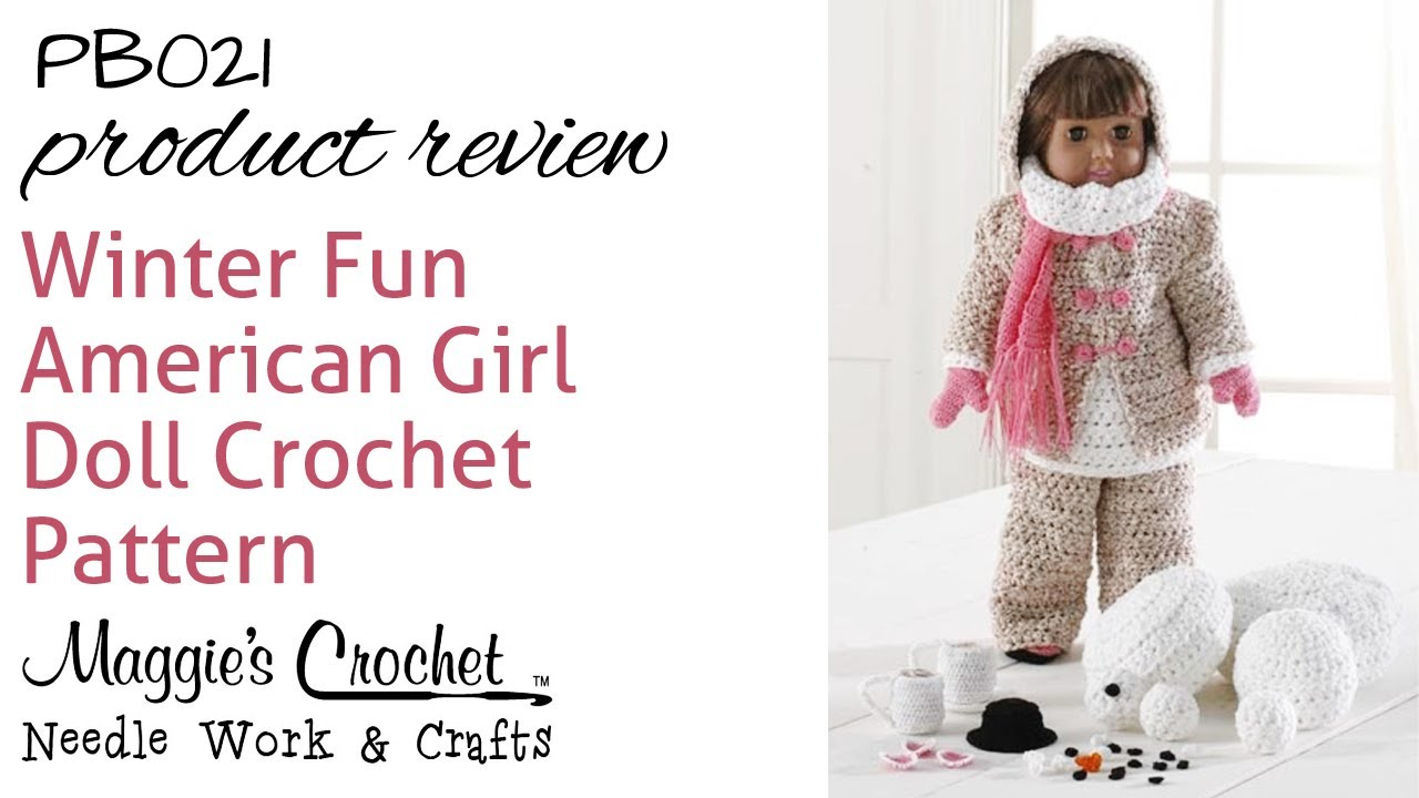Winter Fun American Girl Doll Set Product Review Pb021 Youtube