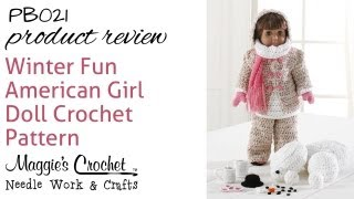Winter Fun American Girl Doll Set - Product Review Pb021
