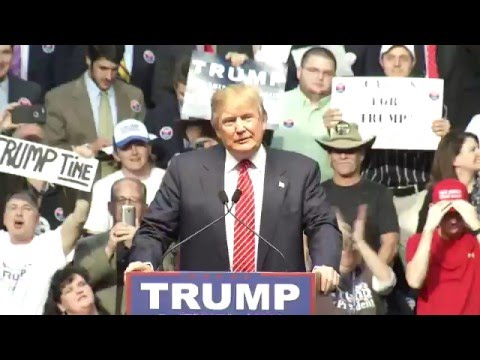 Donald Trump Campaigns in Baton Rouge