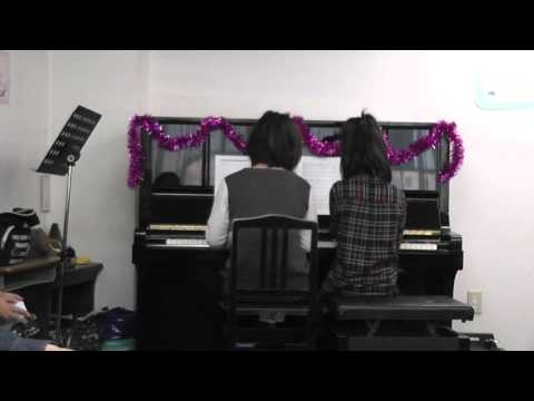 Butterfly (Kaera Kimura) on piano 4 hands by Nayu-chan