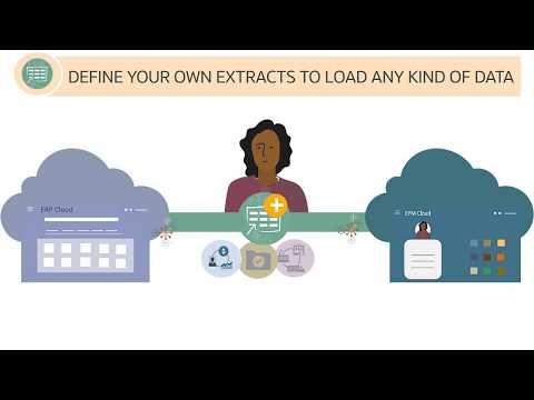 Overview: Load ERP Cloud Data into EPM Cloud Using Data Management