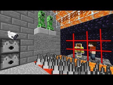 ULTRA GÜVENLİ VE TUZAKLI HAPİSTEN KAÇIŞ! 😱 - Minecraft