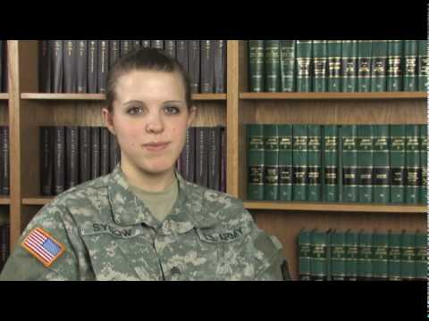 I am the Wisconsin Guard - SGT Amy Sydow