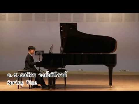 Spring Time-Yiruma [Onn in piano concert]
