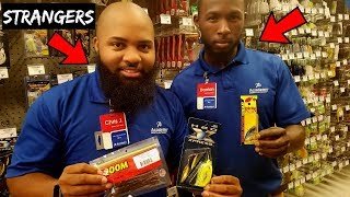 Video STRANGERS Pick My Lures Fishing Challenge (Academy Employees) download MP3, 3GP, MP4, WEBM, AVI, FLV November 2018