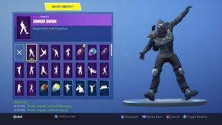 VITRINE DE LA PEAU DE VOYAGE SUR LA ROUTE 'NEW' FORTNITE ROAD TRIP SKIN WILL ALL EMOTES (fr) Enforcer
