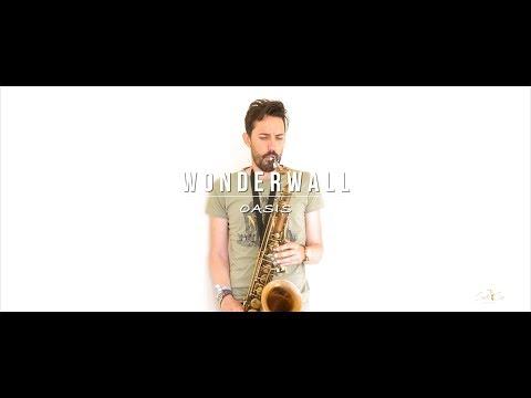 Wonderwall Acoustic - Guitar and Saxophone by Santi Sax Music