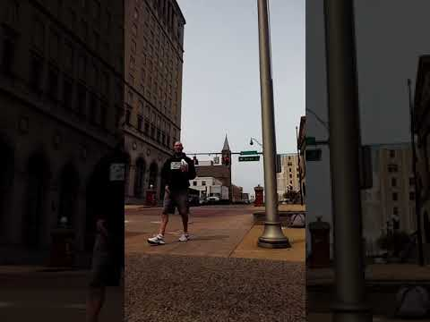 Downtown Canton, Ohio 4-21-2018