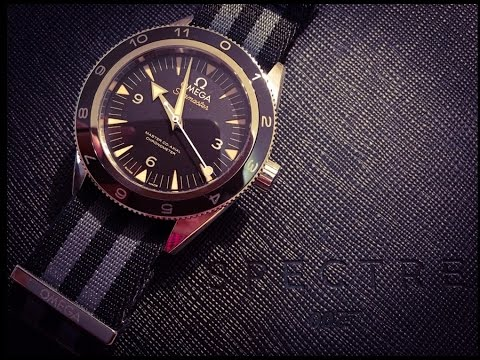 Omega SPECTRE Seamaster 300 Limited Edition Full Review
