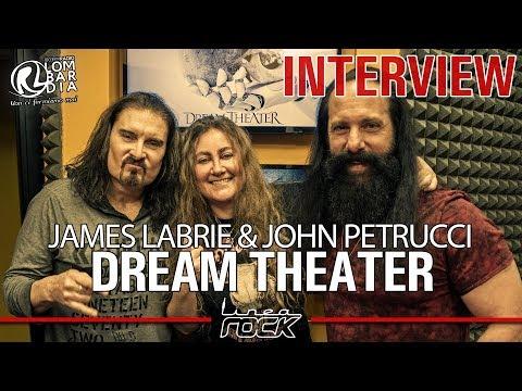 DREAM THEATER - James LaBrie & John Petrucci interview @Linea Rock 2019 by Barbara Caserta
