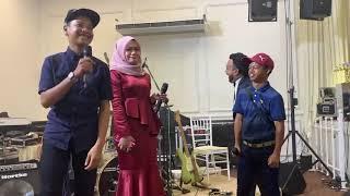Lawak Asif dan Yoe parey pantun di majlis kahwin NatasyaNazreen