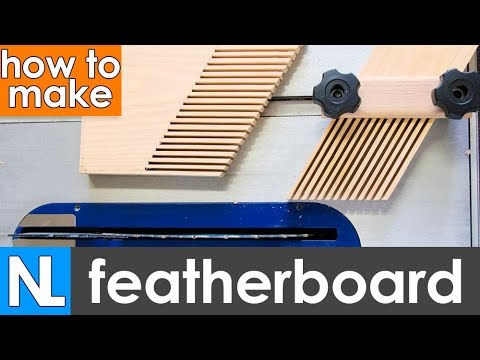 Diy Featherboard How To Make A Fingerboard For Table Saw Woodworking Tutorial