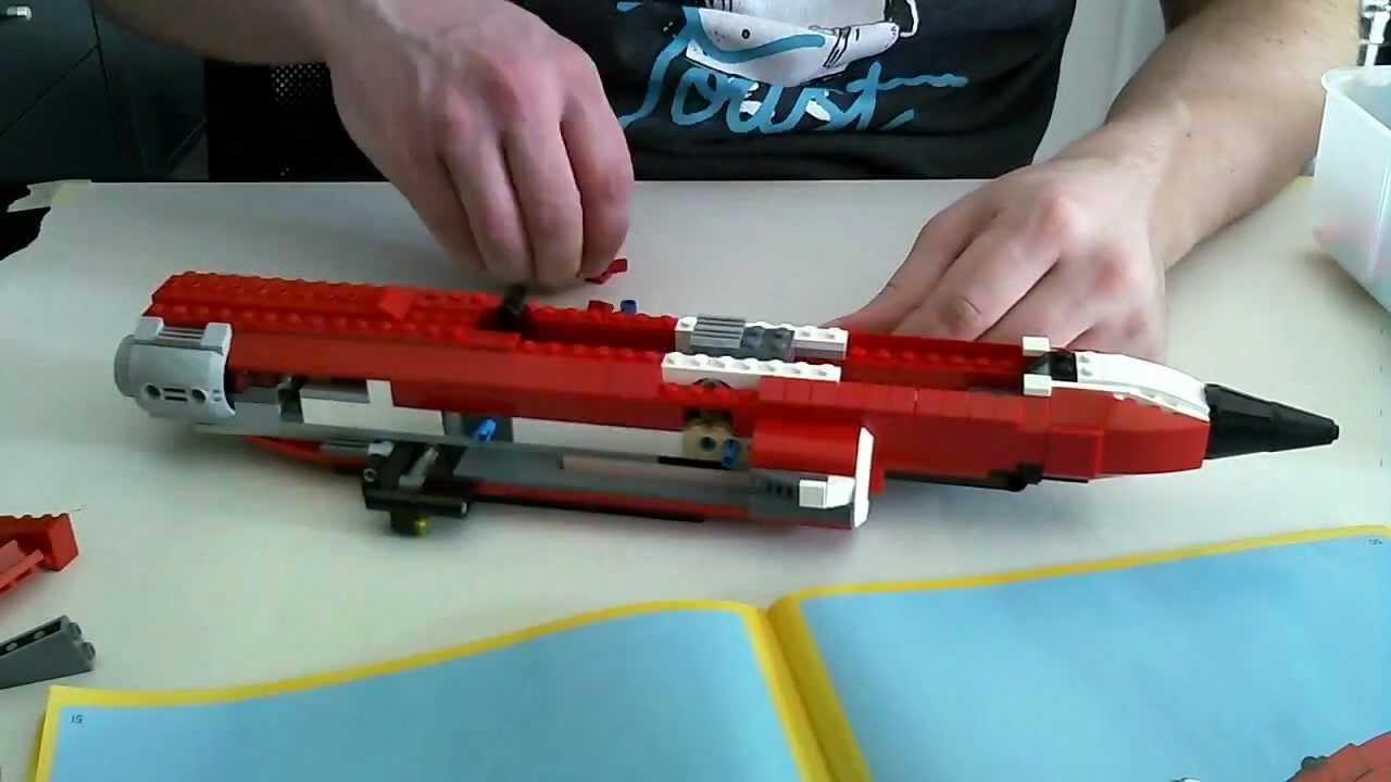 Lego creator sonic boom time lapse youtube - Lego sonic boom ...
