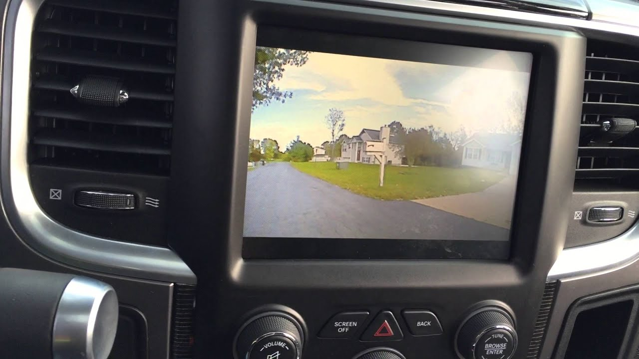 2014 Dodge Ram 2500 6 7 Customtronix 8 4an hack  Front cam rear cam speed  input unlock  dzmedia